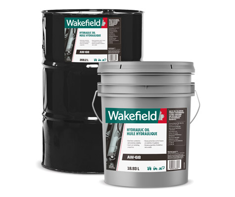 Photo of Wakefield Hydraulic Oil pail and keg formats.